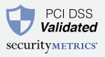We are PCI DSS validated.