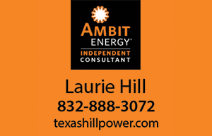 Ambit Energy - Laurie Hill - 832-888-3072