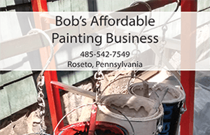 Bob's Affordable Painting Business