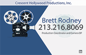 Brett Rodney - Cresent Hollywood Productions