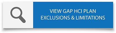 Select here to view Gap HCI PLan Exclusions & Limitations